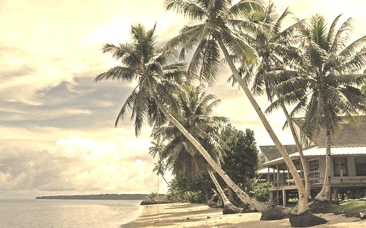 by _Zinni_ on Flickr.Village View Hotel, Wacholab Beach - Yap Island, Federated States of Micronesia.