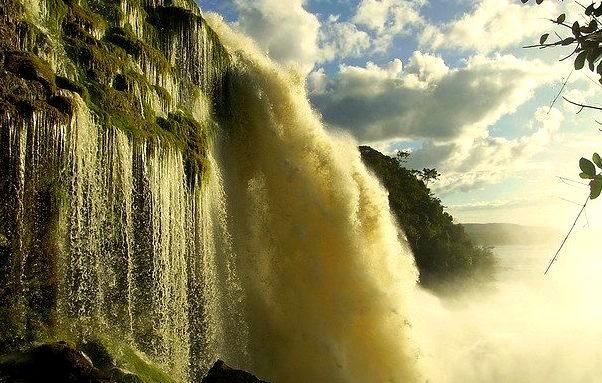 by whl.travel on Flickr.Salto El Hacha - Canaima National Park, Venezuela.