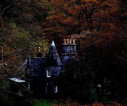 Medieval Castle, Galoway Hills, Scotland