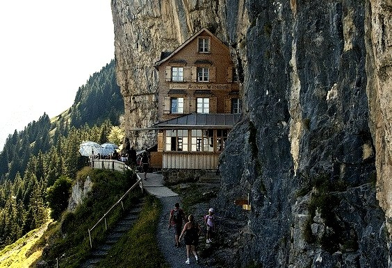 by ettoreferranti on Flickr.Perfect location for a guesthouse on Appenzell Alps region of Switzerland.