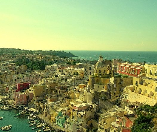 by Rox More on Flickr.The beautiful town of Corricella - Procida Island, Italy.