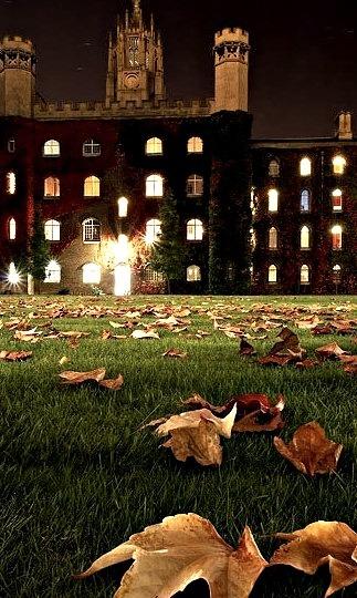 Still Night, Cambridge University, England