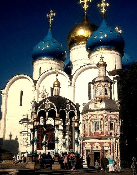 by Ferry Vermeer on Flickr.The Trinity Lavra of St. Sergius is the most important Russian monastery and the spiritual centre of the Russian Orthodox Church - Sergiyev Posad, Russia.