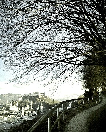Following the path to Salzburg, Austria