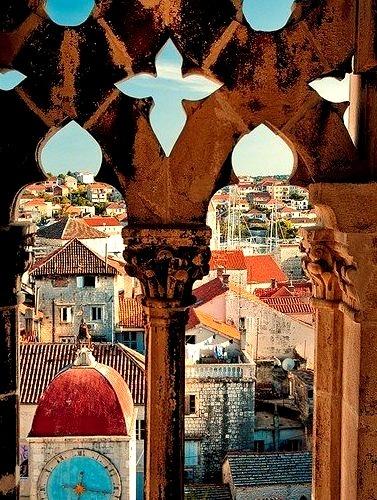 Clocktower, Trogir, Croatia