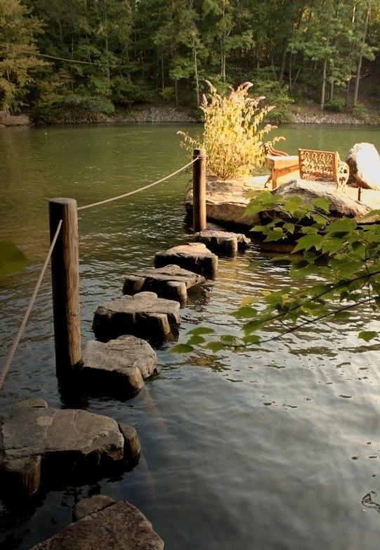 Rock Path, Lake Martin, Alabama