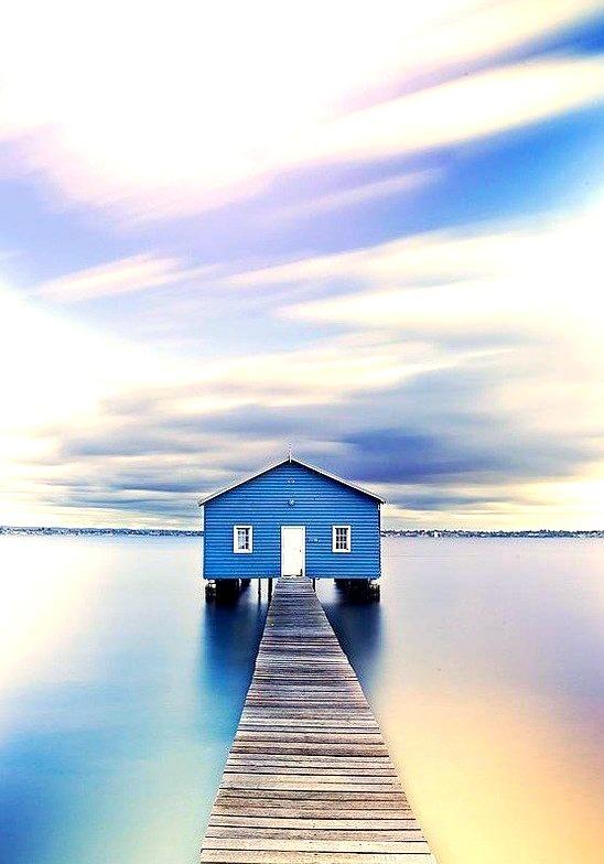Blue, Matilda Bay, Australia