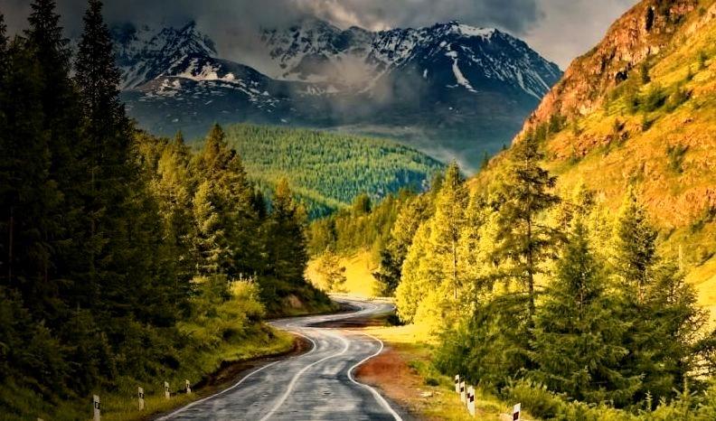 Mountain Valley Road, Alberta, Canada