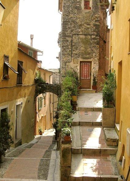 Medieval, Menton, France