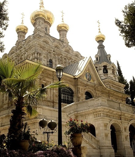 The Church of Mary Magdalene, Mount of Olives, Jerusalem