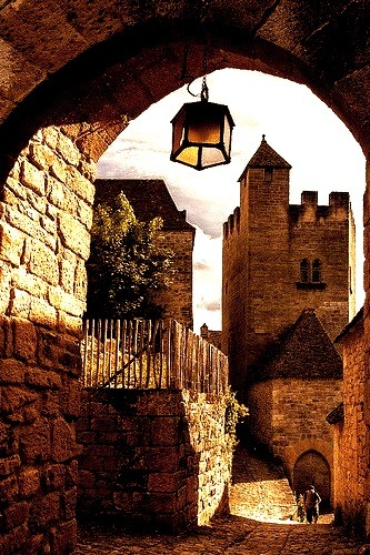 Medieval Village, Dordogne, France