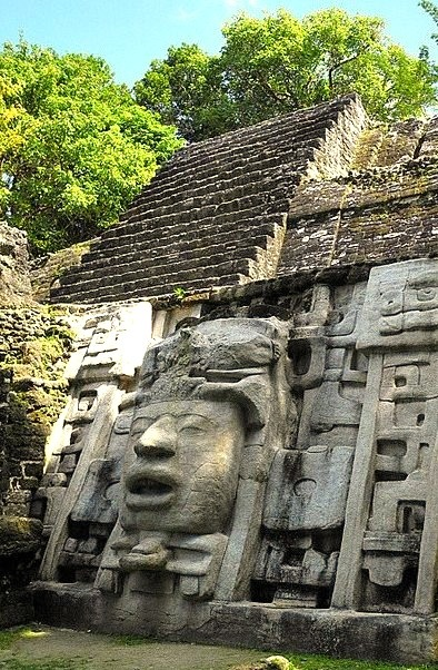 The Mayan ruins of Lamanai, Belize