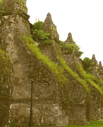 Paoay Church, Unesco World Heritage Site in Ilocos Norte, Philippines