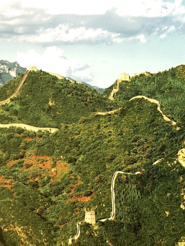 The Great Wall in Jixian / China