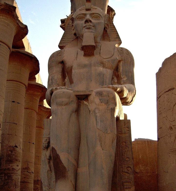 Seat of Power, Luxor / Egypt